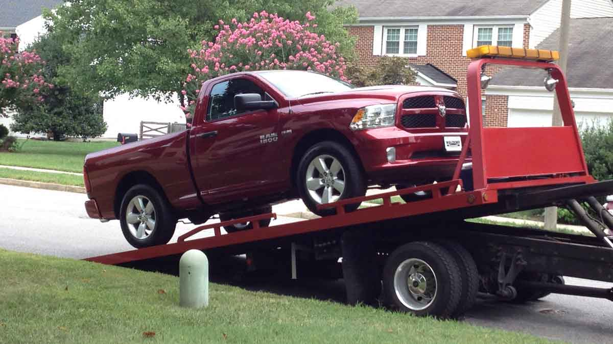 Alexandria Towing Fast Fairfax Towing I 495 Towing